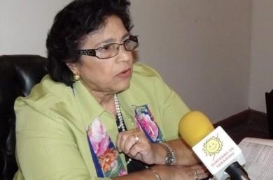 Vestalia Sampedro, diputada de la Comisión de Finanzas