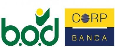 Logotipos de B.O.D y Corpbanca, respectivamente