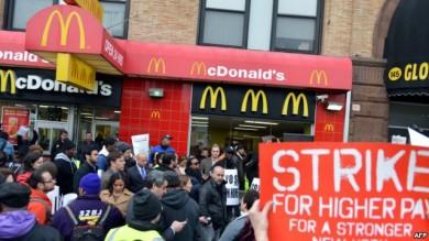 huelga-trabajadores-comida rapida