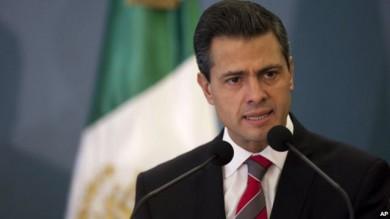El presidente de México, Enrique Peña Nieto,