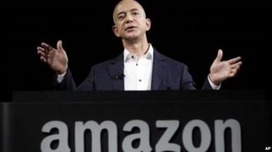 Jeffrey P. Bezos, fundador y principal ejecutivo de Amazon.com.