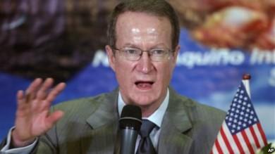 William Brownfield, secretario de Estado adjunto de EE.UU. para asuntos relacionados con la lucha antinarcóticos.
