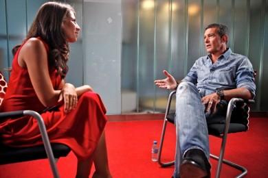 Antonio Banderas y Ana Pastor 04