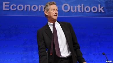 """Si no hay acuerdo en EE.UU. la """"recuperación podría convertirse en una recesión o algo peor"""", afirmó Olivier Blanchard, del FMI."""