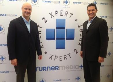 Carlos Cordido, Director Ejecutivo de Invermedia (comercializadora de Turner Latin America) y Jesús Barón, Director Ejecutivo de Planeamiento Estratégico y Ventas Publicitarias de Turner Latin America.