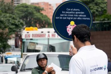 Voluntarios Bancaribe - Día Mundial del Ahorro (1)