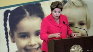 La presidenta Dilma Rousseff fue criticada por haber permitido que la inflación aumentara, al adoptar la política de reducción de la tasa de interés anciada por el Banco Central recientemente.