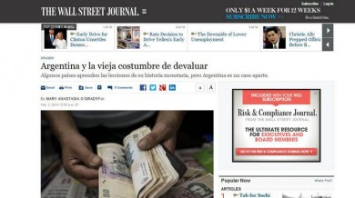 The-Wall-Street-Journal-pronostico-argentina-devluacion