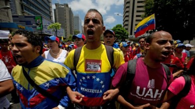venezuela-huelga de hambre