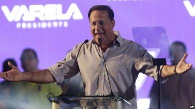 El presidente electo de Panamá, Juan Carlos Varela.