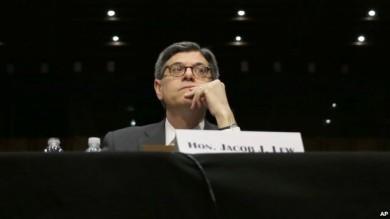 El secretario del Tesoro Jacob Lew