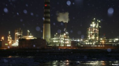 Refinería Achinsk de Rosneft, en Rusia