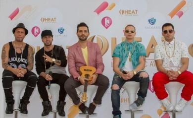 HTV- Premios Heat - Artistas.