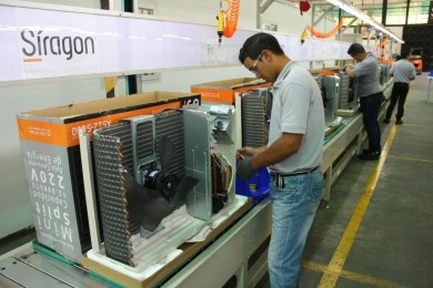 Siragón- Inauguracion de fabrica - Aires acondicionados 3