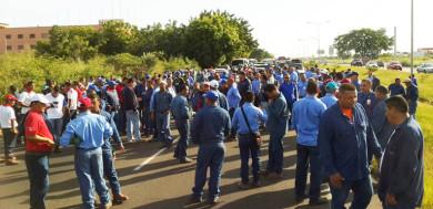 protesta-guayana-mejoras-salarios