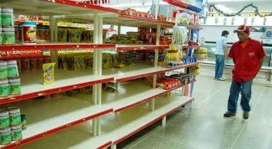 desabastecimiento en los supermercados de barquisimeto 10/01/2008 foto jairo nieto ABASTO