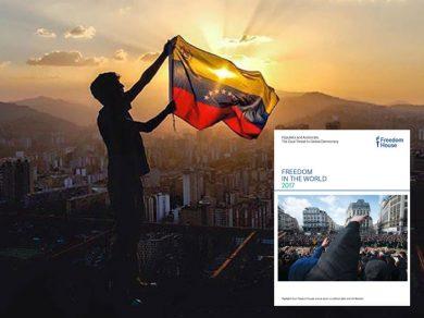 Venezuela-no libre-freedom house