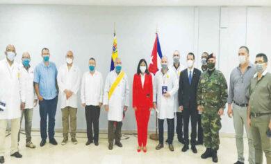 medicos y militares cubanos en venezuela